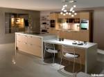 Tủ bếp Laminate có đảo – TBB0866