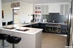 Tủ bếp Laminate có đảo – TBB1021