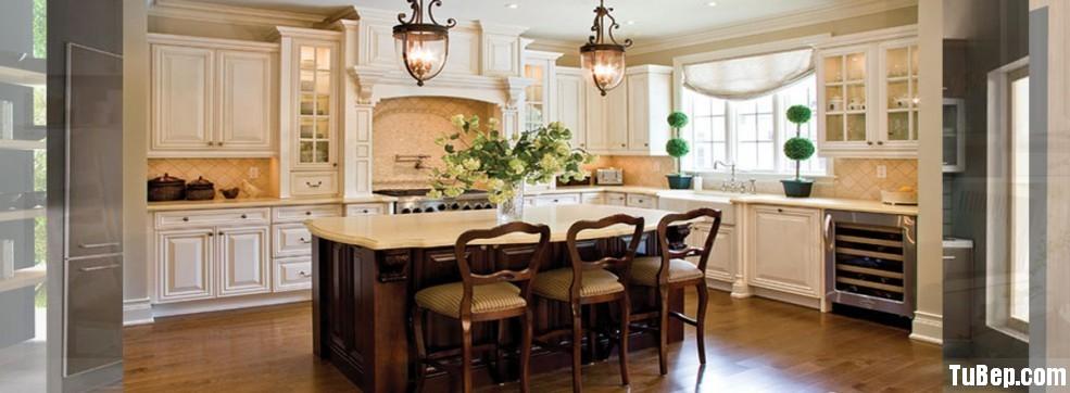 20140118035852da422d521a7 Tủ bếp gỗ tự nhiên sơn men trắng có đảo   TBB1080