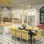 Tủ bếp tự nhiên – TBN1114