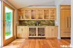 Tủ bếp gỗ Giáng Hương chữ I – TBB 1065
