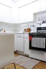 Bí quyết khiến căn bếp nhỏ thông thoáng hơn