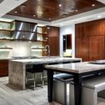 Tủ bếp tự nhiên + công nghiệp – TBN1187