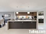 Tủ bếp Laminate có đảo chữ I- TBB 1260