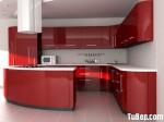 Tủ bếp Acrylic màu đỏ, chữ G – TBB 1172
