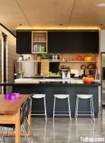 Tủ bếp Melamin thiết kế nhỏ gọn ấn tượng – TBN1573