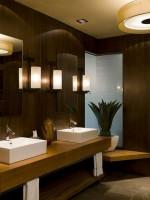 Lựa chọn mặt bàn trang điểm cho phòng tắm