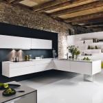 Những mẫu phòng bếp sang trọng hình chữ L
