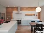 Tủ bếp Acrylic trắng chữ L TBT1149