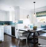 Tủ bếp Sồi trắng tiện lợi cho nhà vườn – TBN3772