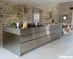 Tủ bếp Inox hiện đại bền chắc cho nhà bếp – TBN3805