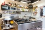 Tủ bếp Inox304 chữ L có đảo siêu bền – TBN3856