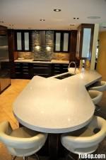 Tủ bếp Căm xe thiết kế ấn tượng chữ G – TBN4620
