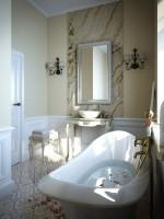 Cách trang trí sáng tạo và đẹp mắt cho phòng tắm nhỏ