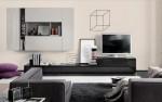 Chọn nội thất hiện đại, thanh tao cho phòng khách