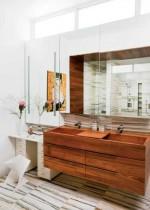Phòng tắm hiện đại theo phong cách 'Techno'