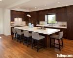 Tủ bếp chất liệu Laminate kết hợp bàn đảo tiện lợi – TBN5180
