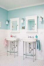 Những mẫu thiết kế phòng tắm xinh đẹp và hiện đại