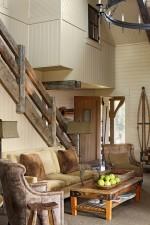 Xu hướng thiết kế phòng khách mộc mạc vô cùng giản dị