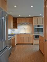 Tủ bếp gỗ tự nhiên sang trọng thiết kế chữ I – TBT3303