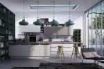 10 mẫu thiết kế nội thất nhà bếp rất ấn tượng với chủ đề hình học