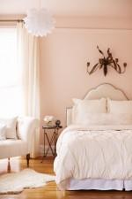 Ngọt ngào với như những căn phòng ngủ sơn màu hồng đào