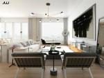 Phong cách Bauhaus ở trong căn hộ cao cấp tại New York