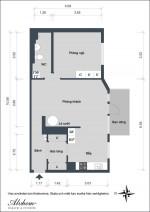 Cách bài trí căn hộ 2 phòng ngủ xinh xắn và tiện dụng
