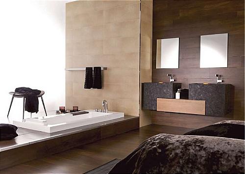 Phòng tắm với thiết kế hiện đại mang đến nét đẹp