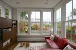 Thiết kế cửa sổ rộng cho không gian phòng khách thêm sáng và đẹp