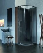 Mẫu phòng tắm tối giản gọn gàng và không kém phần tinh tế