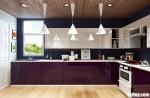 Tủ bếp Acrylic chữ L bóng gương phong cách hiện đại – TBB4071