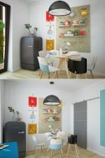 Chọn nội thất làm mới cho không gian phòng ăn