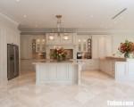 Tủ bếp gỗ Xoan Đào thiết kế phù hợp không gian rộng – TBT3629