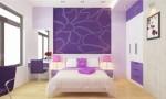Những căn phòng ngủ màu tím đẹp mộng mơ