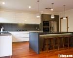 Tủ bếp gỗ Acrylic chữ L thiết kế sang trọng tiện dụng – TBT3688