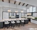 Tủ bếp gỗ Xoan Đào thiết kế phù hợp không gian rộng – TBT3651