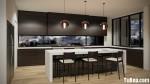 Tủ bếp Laminate sang trọng hiện đại – TBB4202