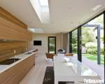 Tủ bếp gỗ Laminate thiết kế hiện đại chữ I – TBT3709