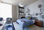 Trang trí bức tường nghệ thuật cho không gian phòng ngủ