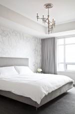 Những không gian phòng ngủ màu bạc ấn tượng và sáng ngời