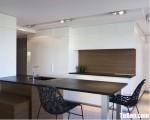 Tủ bếp gỗ Acrylic thiết kế sang trọng chữ I – TBT3194