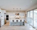 Tủ bếp gỗ Acrylic chữ L thiết kế phù hợp không gian rộng – TBT3226