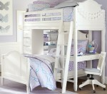 Bất cứ bậc phụ huynh nào cũng muốn sắm cho con mình mẫu giường ngủ gắn với bàn học siêu xinh này