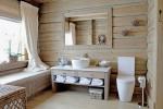 Những thiết kế phòng tắm bằng gỗ đẹp 'đốn tim' người nhìn