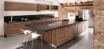 Mẫu tủ bếp gỗ ốc chó đẹp theo xu hướng 2018