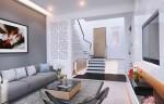 Thiết kế nội thất đẹp cho nhà phố dạng ống