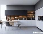 Tủ bếp chất liệu Acrylic hiện đại – TBN8120