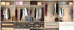 Một vài mẫu hiết kế tủ quần áo chuẩn cho từng người trong gia đình