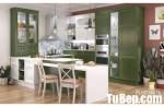 Tủ bếp gỗ Sồi đầy đủ tiện ích cho 1 khuôn bếp nhỏ – TBT3490
